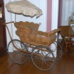 50 Wicker Baby carriage