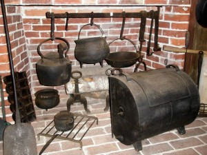 Cast iron kitchen items
