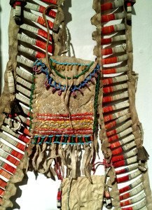 16 Native breastplates