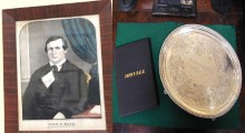 Hale tray and books