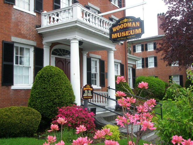Front of Woodman Museum