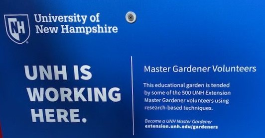 UNH is working here banner