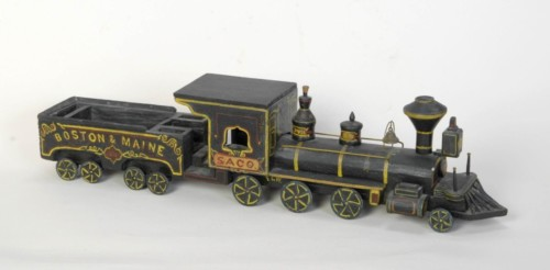 Toy locomotive model