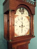 Hutchins tall clock